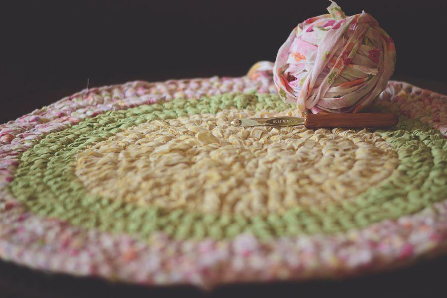 Crocheting Rag Rugs : Crochet Rag Rug Crochet Pinterest