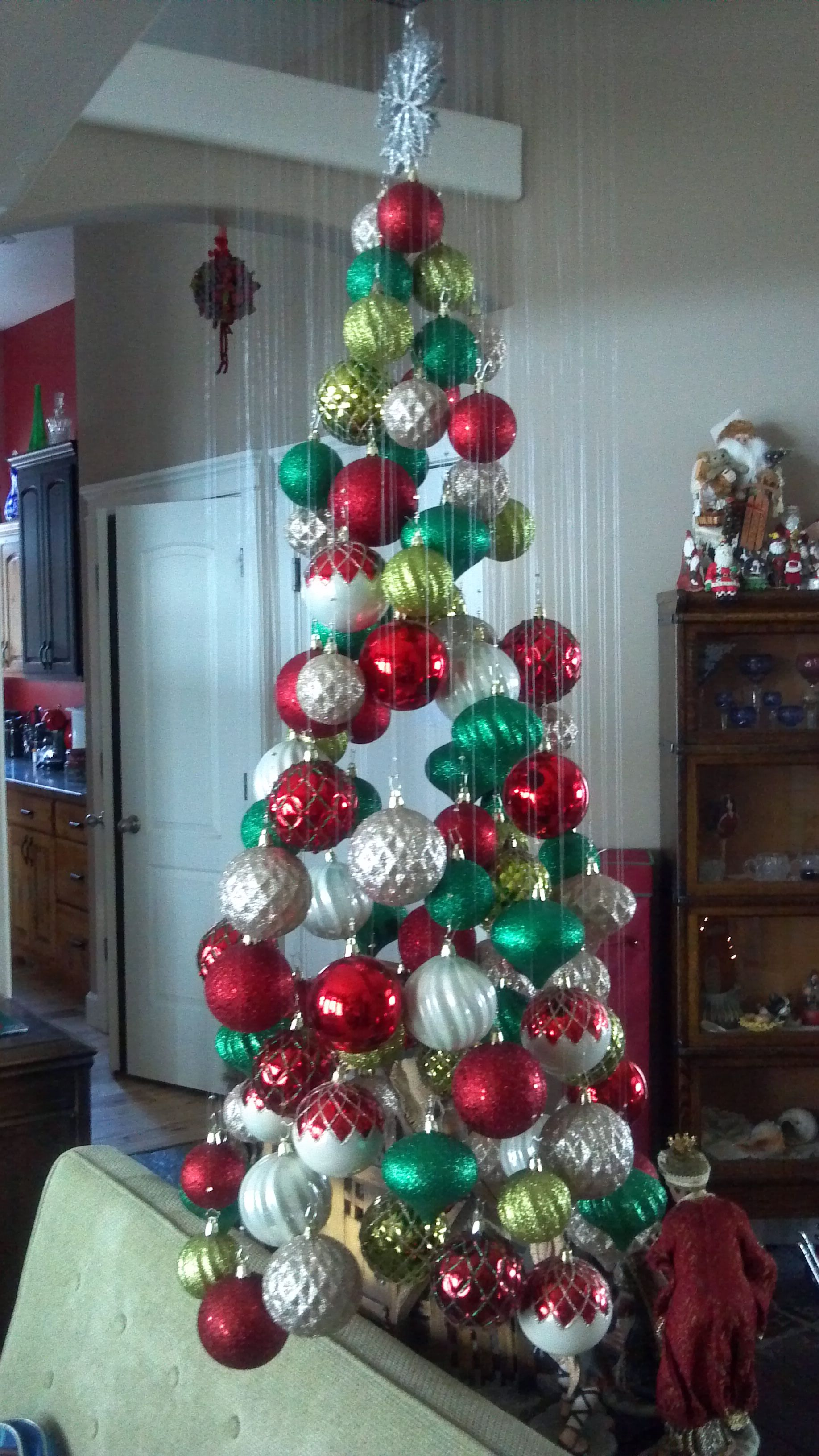 My version of the Christmas Tree Mobile