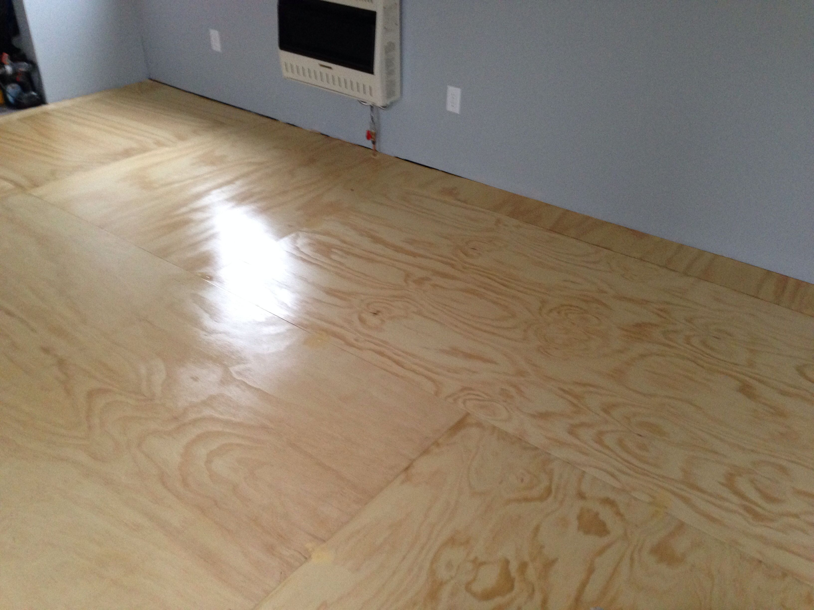 Plywood floors plywood flooring pinterest for Floors on floors