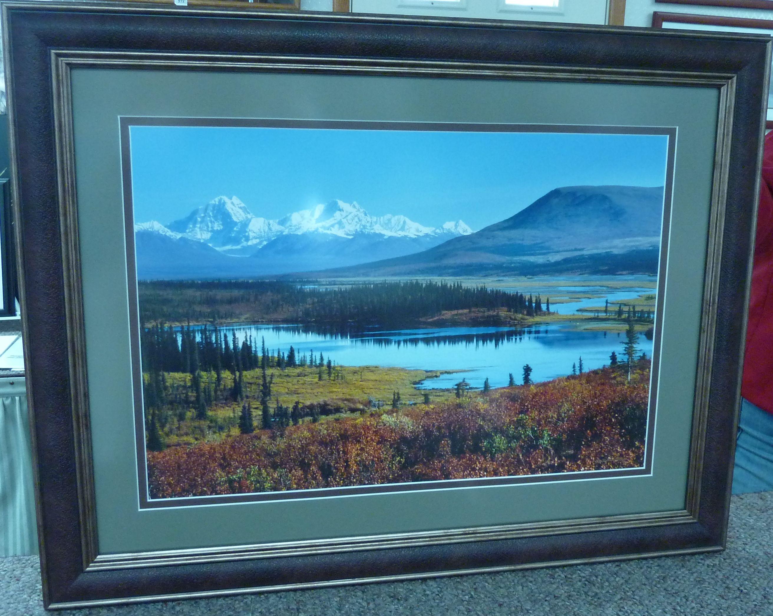 alaska memories non glare glass frames we frame it
