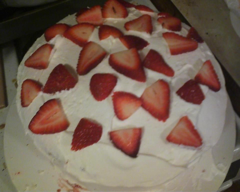 Homemade Strawberry Shortcake | Food and Drink | Pinterest