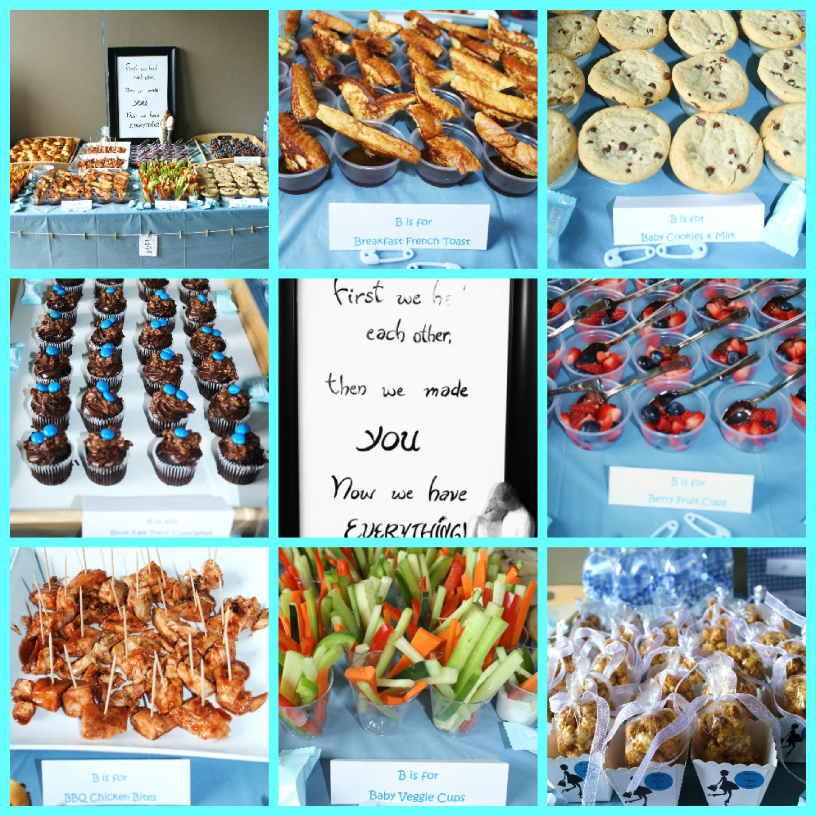 my baby boy shower food baby shower pinterest