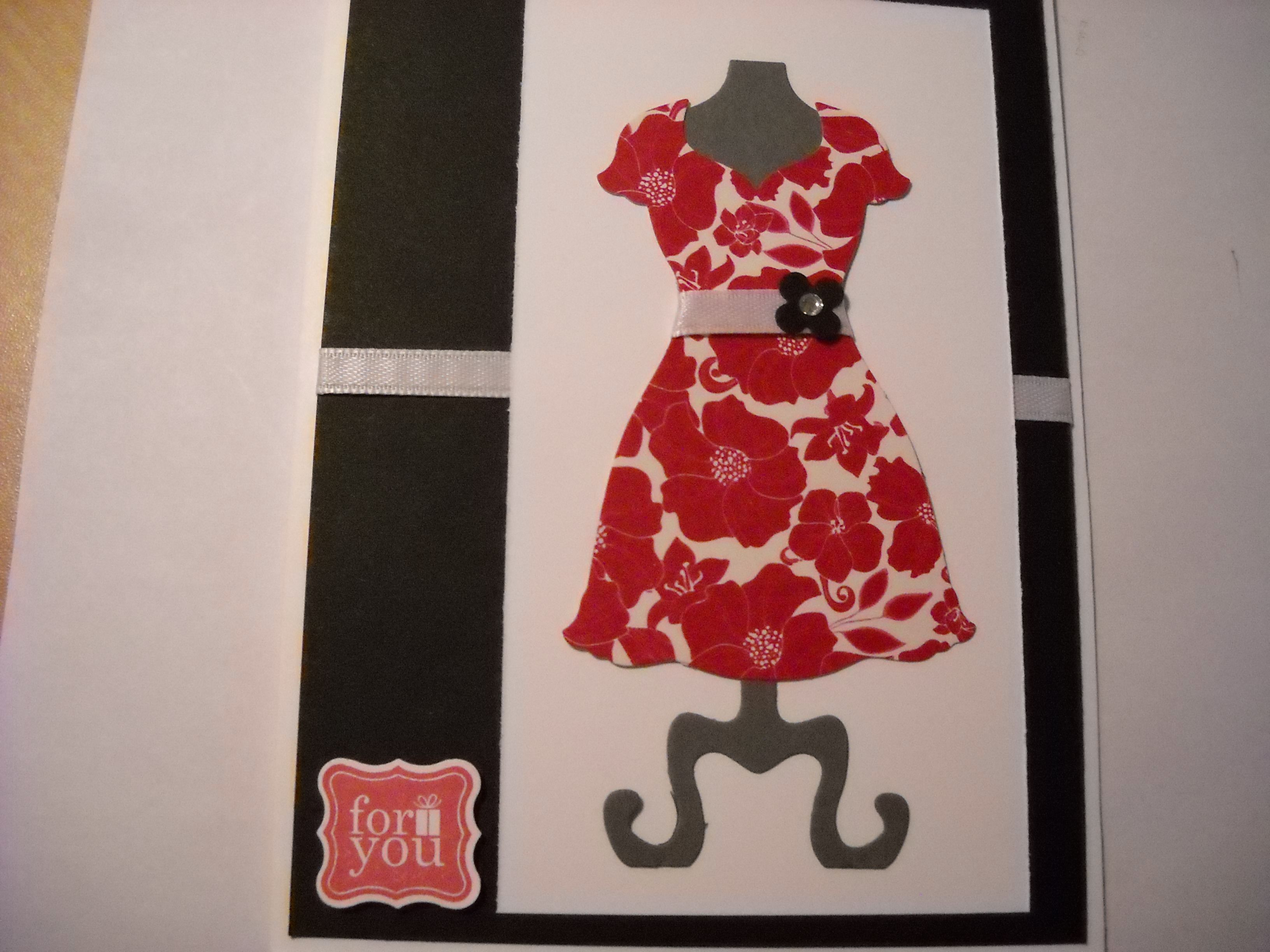 Dress Card | Things I've Make | Pinterest: pinterest.com/pin/276338127109781079