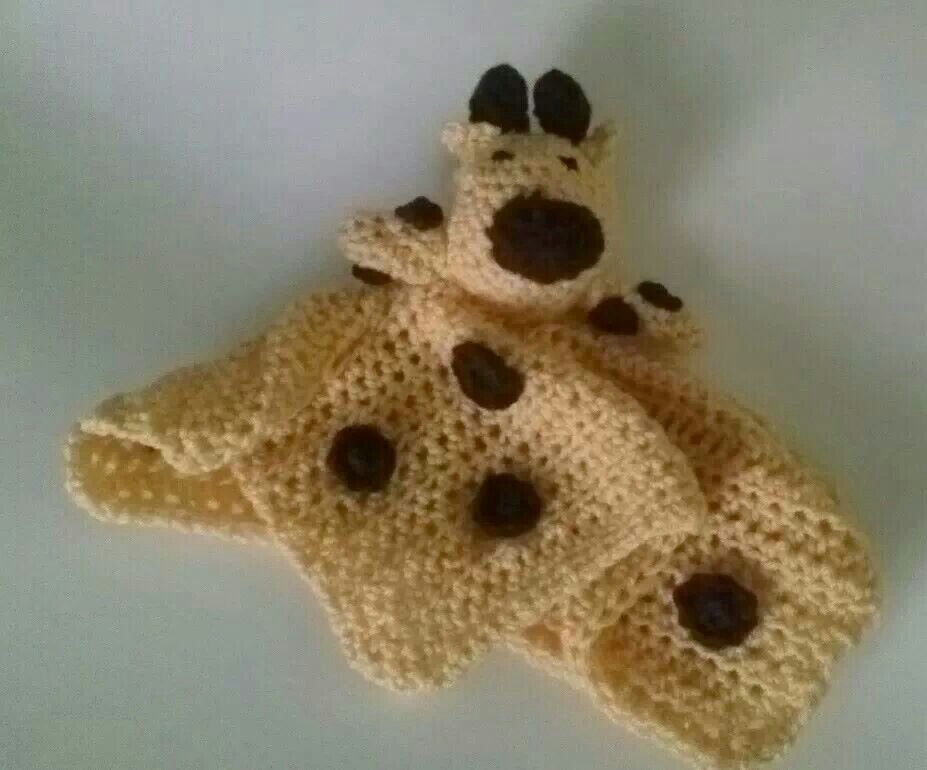 Crochet Pattern Giraffe Blanket : Crocheted giraffe baby blanket. For the Kiddos Pinterest