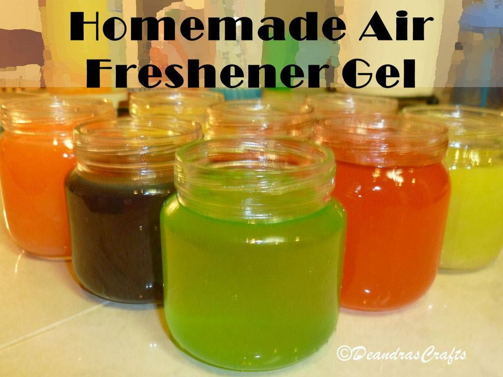 Homemade air freshener gel craft ideas pinterest - Homemade air fresheners ...