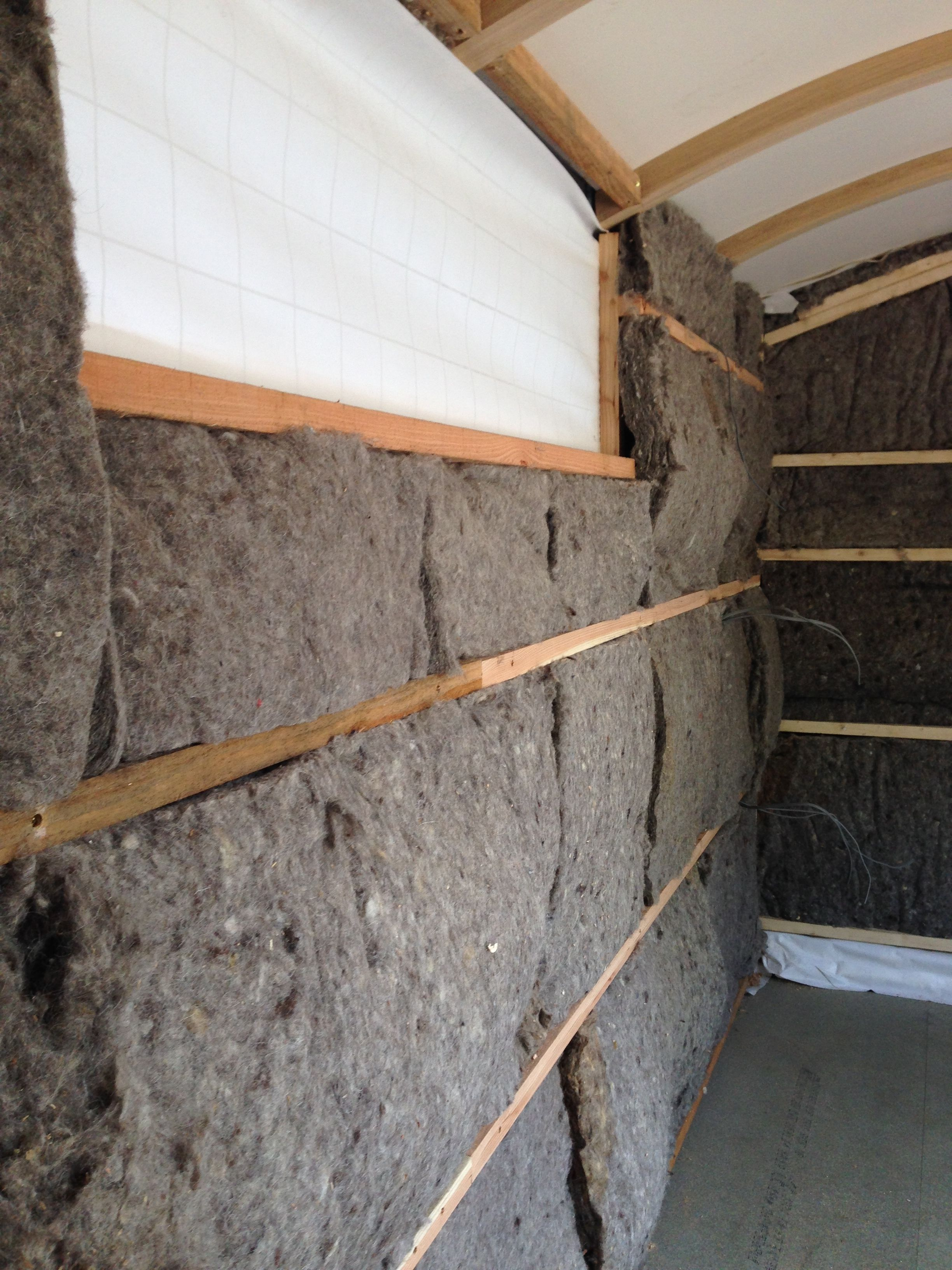 Sheep 39 s wool insulation cosy 40 acres in the for Wool insulation