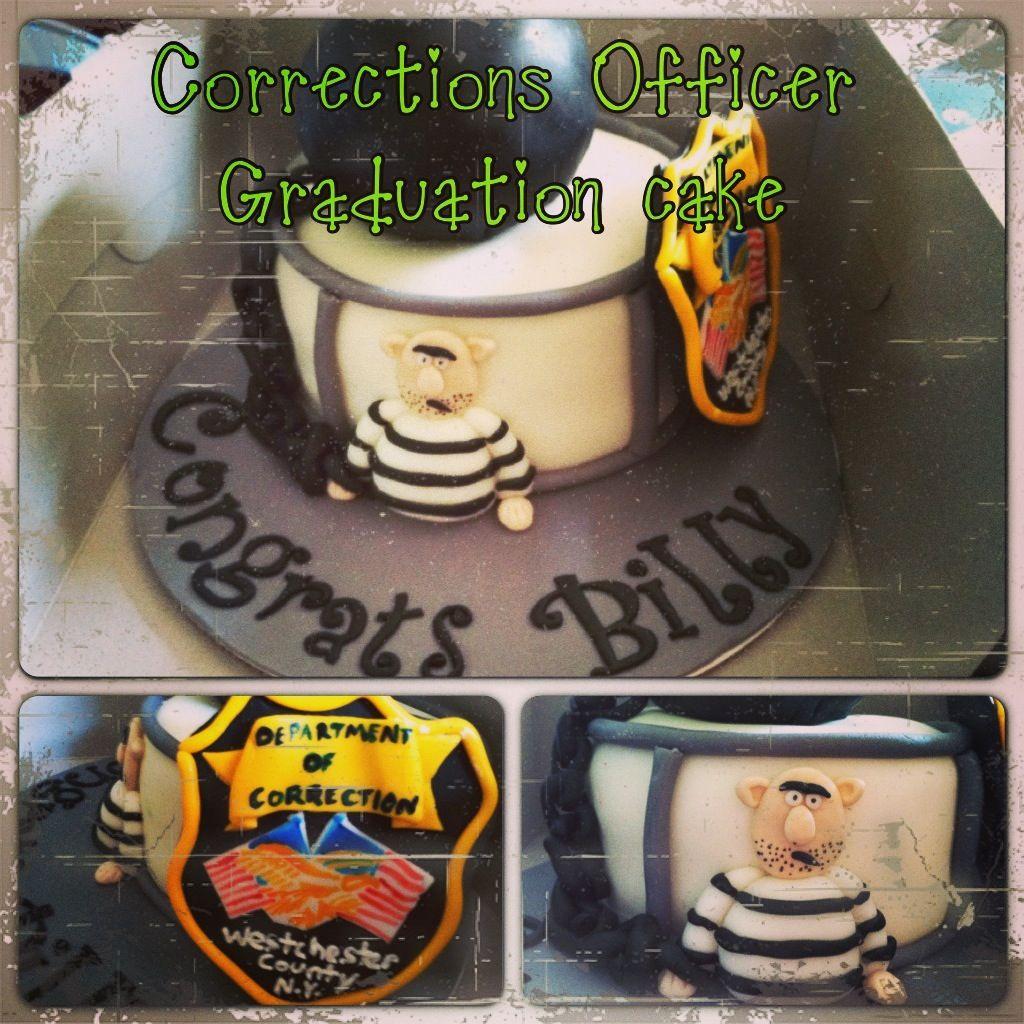 correctional officer cake