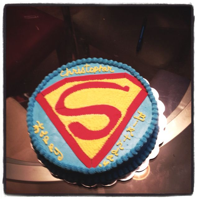 Cake Images Superman : Superman cake Cake ideas Pinterest