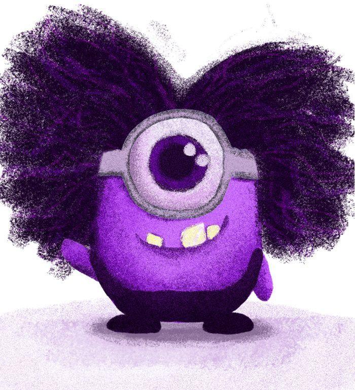 ミニオン 紫 名前