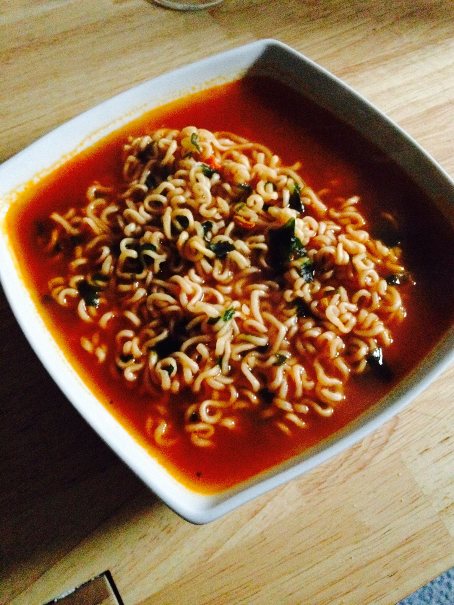 Spicy chinese noodle soup   LYSSA STUFF   Pinterest