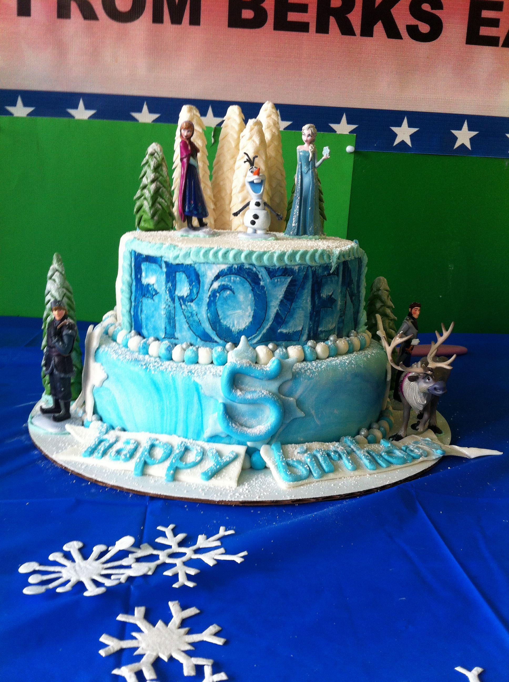 Frozen Disney Cake Ideas Pinterest