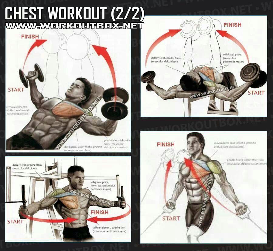Alternative chest workout slimming pinterest