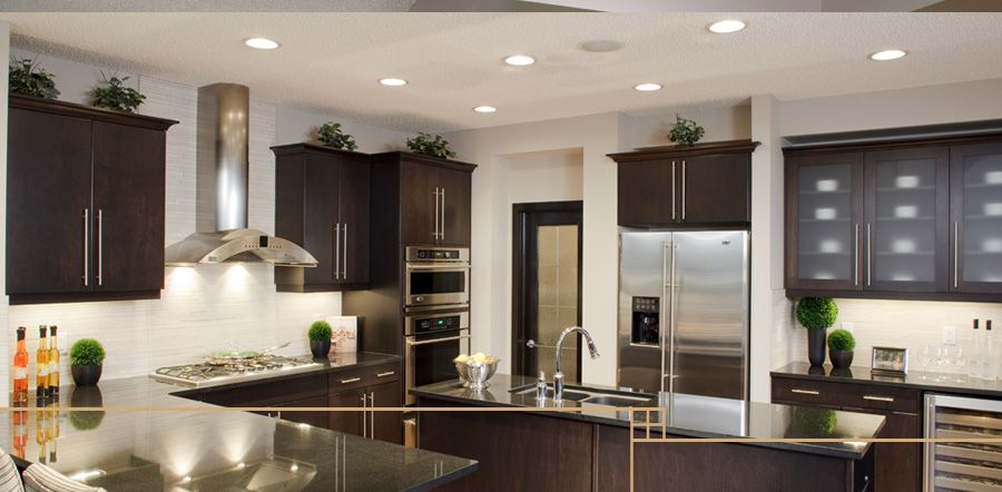 Dark kitchen with Dark Cabinets  Kitchens  Pinterest