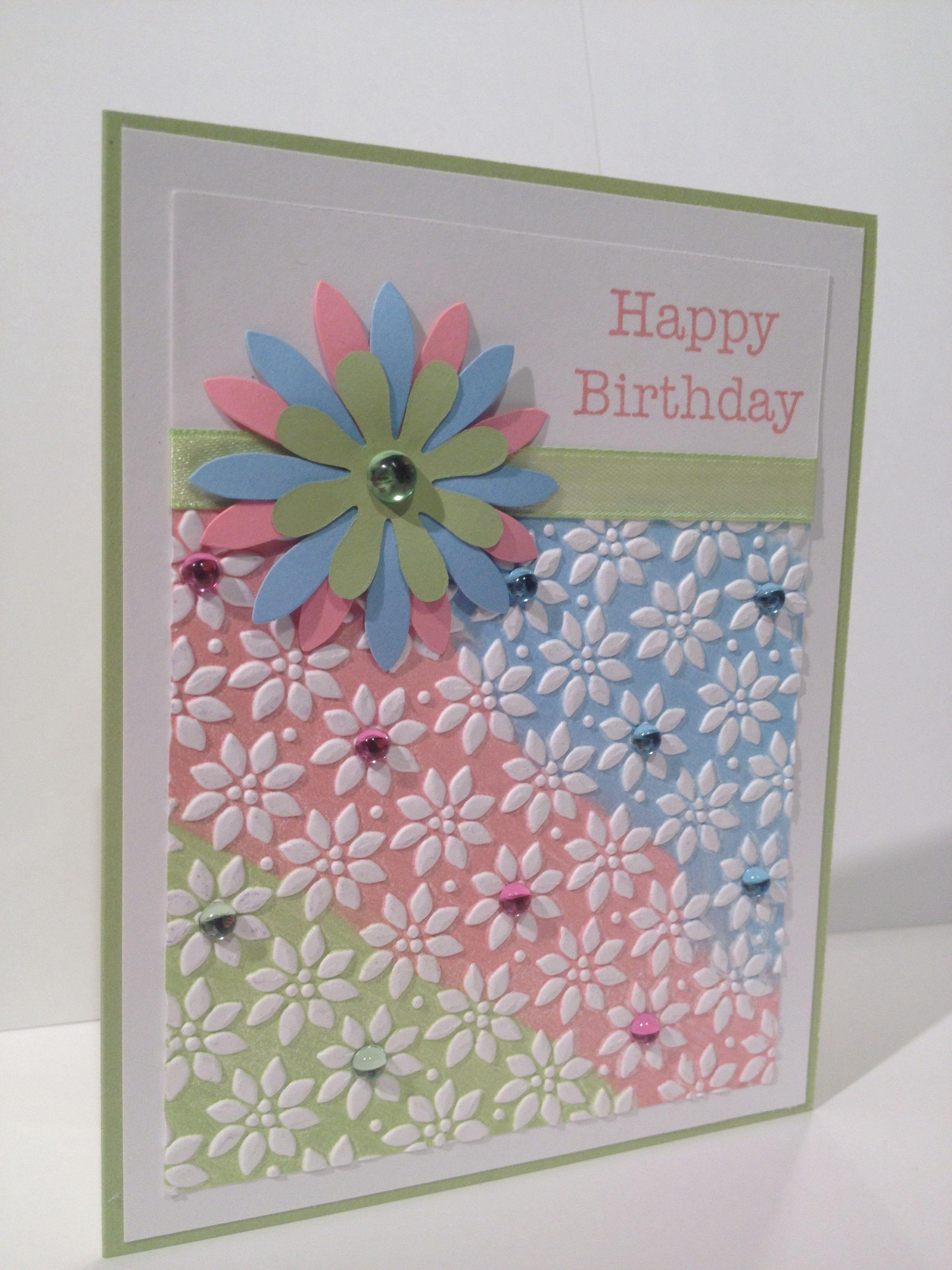 Stampin up birthday card stampinup inspiration pinterest