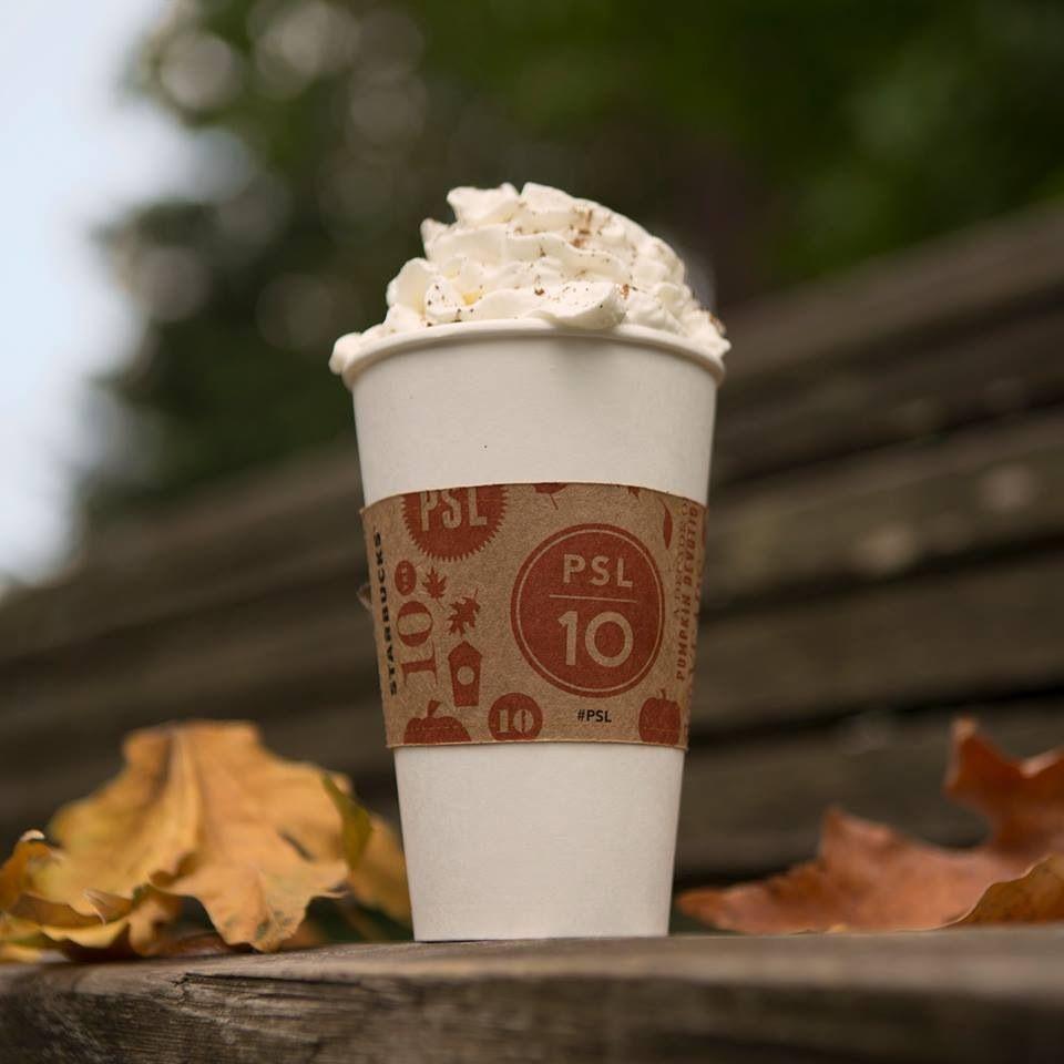 Pumpkin Spice Latte @ Starbucks   Autumn   Pinterest