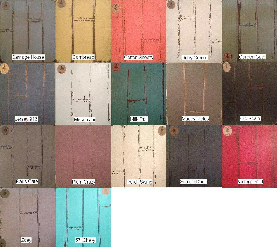Colour Inspiration A Retro Kitchen From Sarah 101: Vintage Farmhouse Chalk Paint
