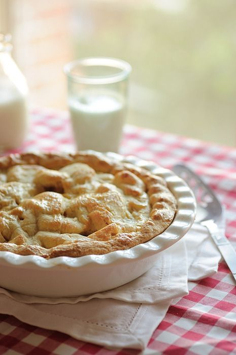 fresh baked pie and milk   Favourite things   Pinterest