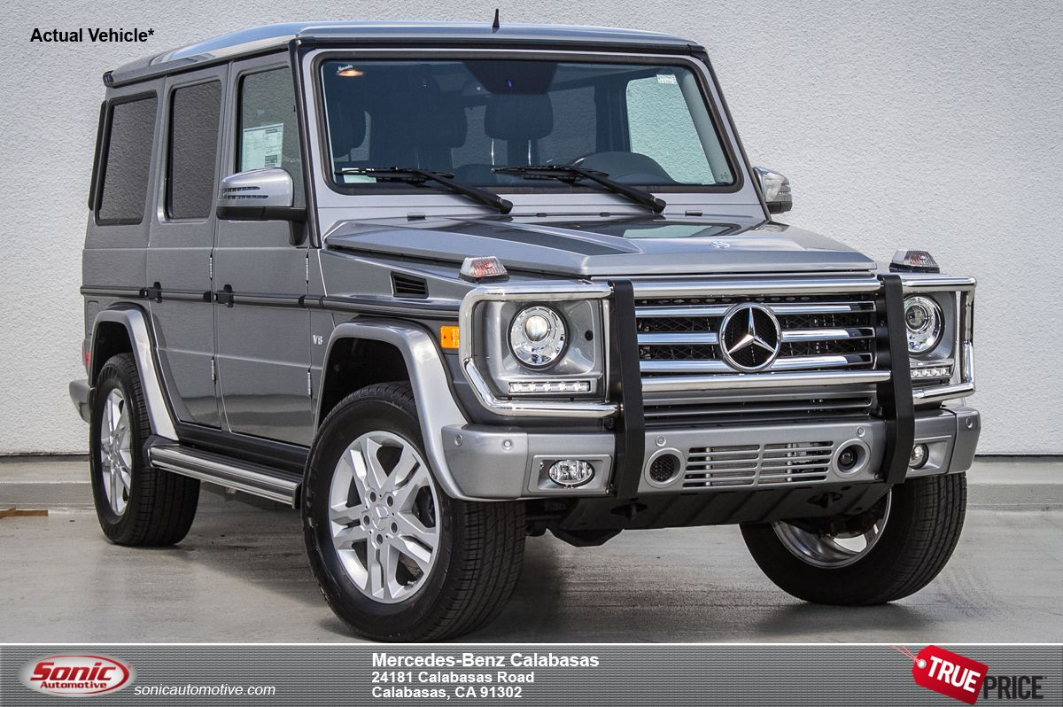 Image gallery silver g550 2016 for Mercedes benz g class suv price