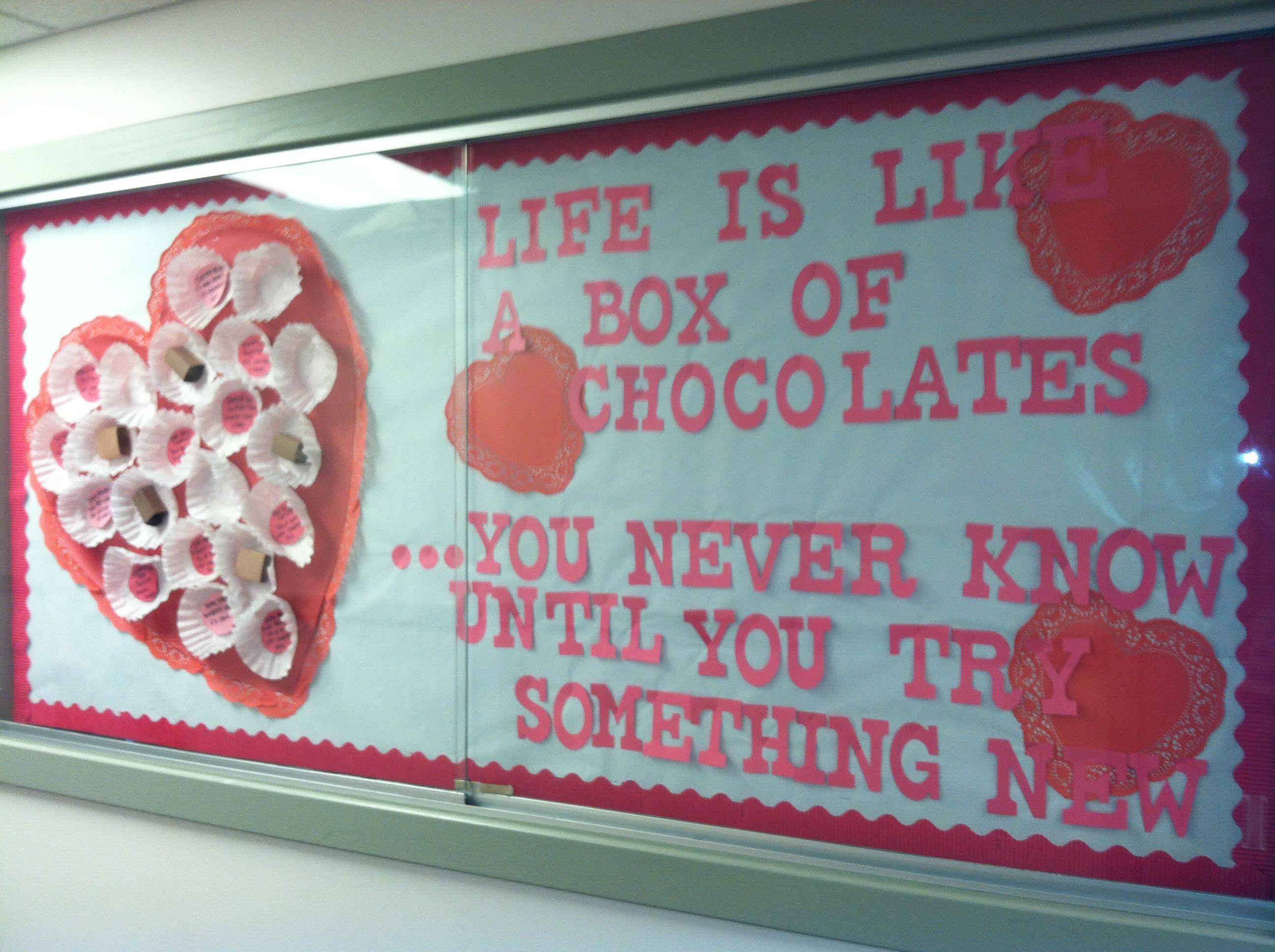 valentine's day bulletin board preschool