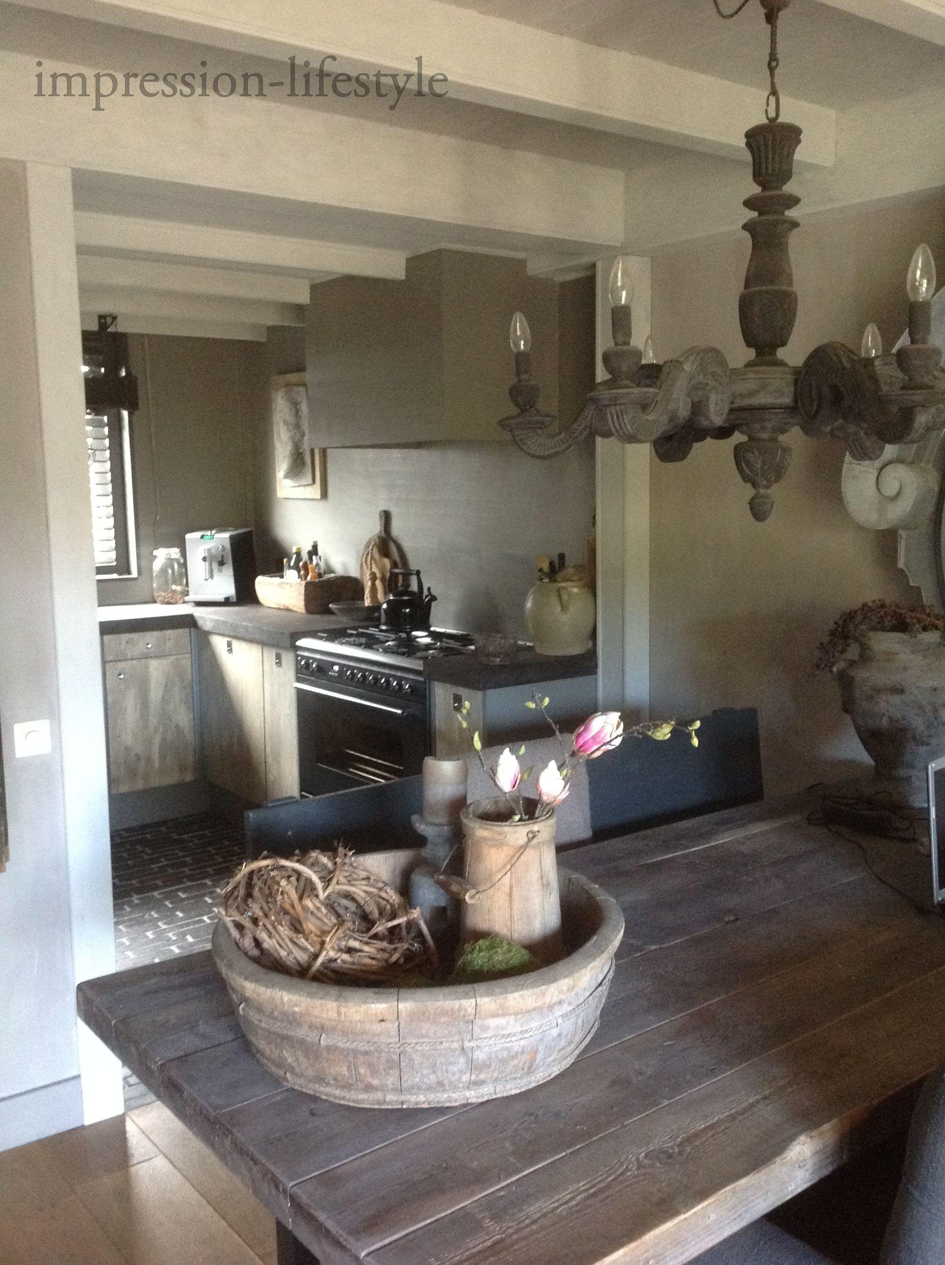 Stoere landelijke keuken door jolanda4you - Decoratie van keukens ...