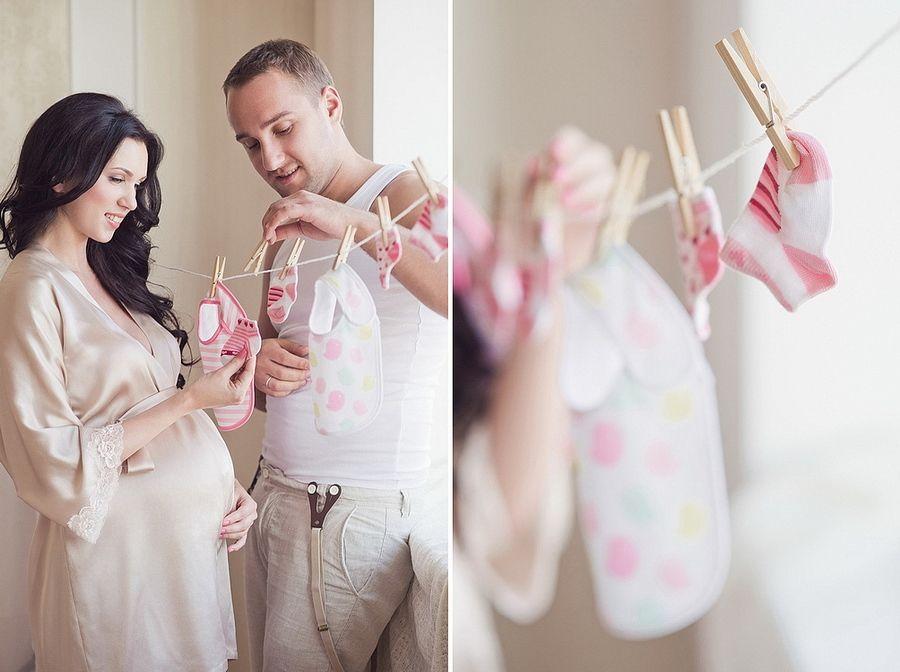 домашние фотки беременных женщин