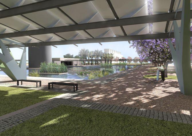 parco urbano progetto