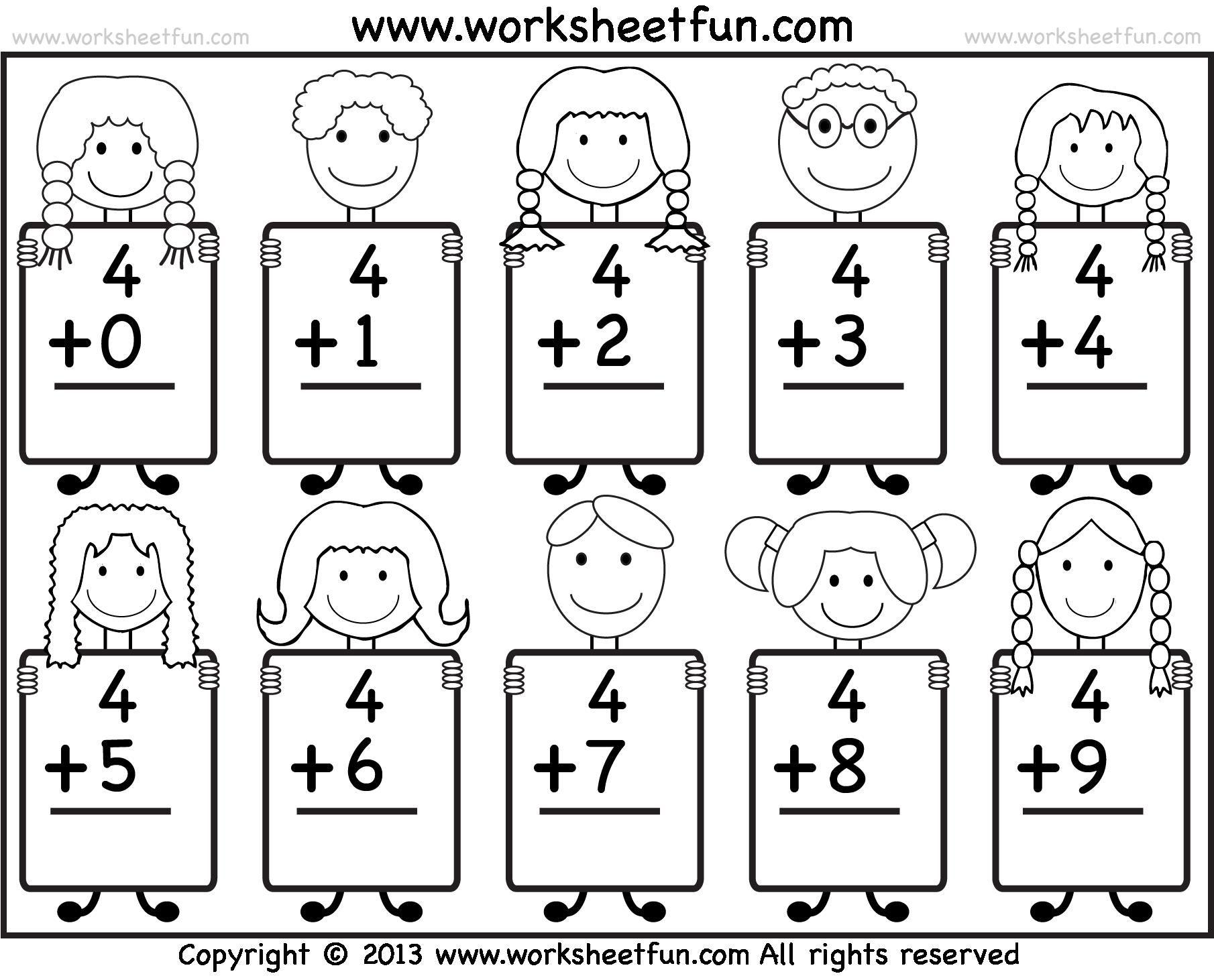 Uncategorized Math For Kindergarten Worksheets printable worksheets of math for kindergarten editable free addition 1