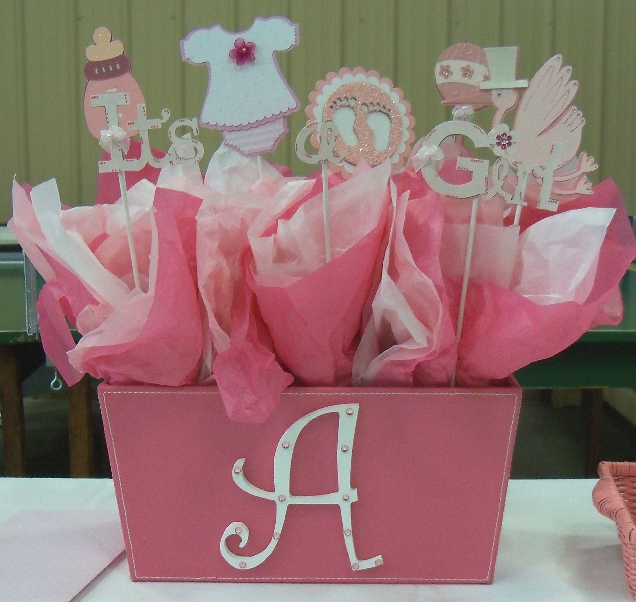 Baby Shower Basket (Cricut)