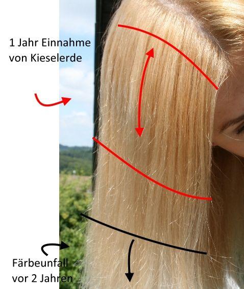 Lange Haare Kieselerde