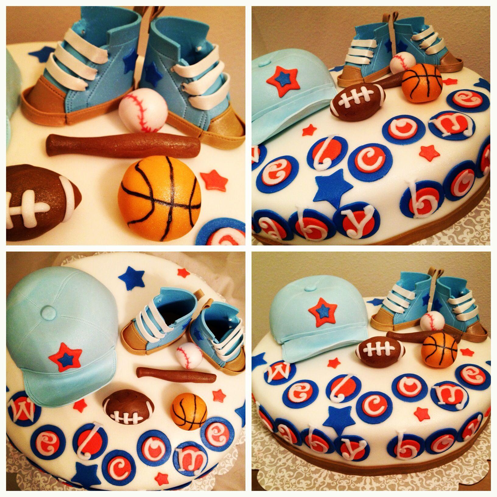 sports themed baby shower god mommy pinterest