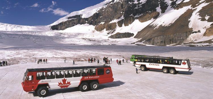 Glaciar Athabasca, Columbia Icefields, viaje Montañas Rocosas Canadá