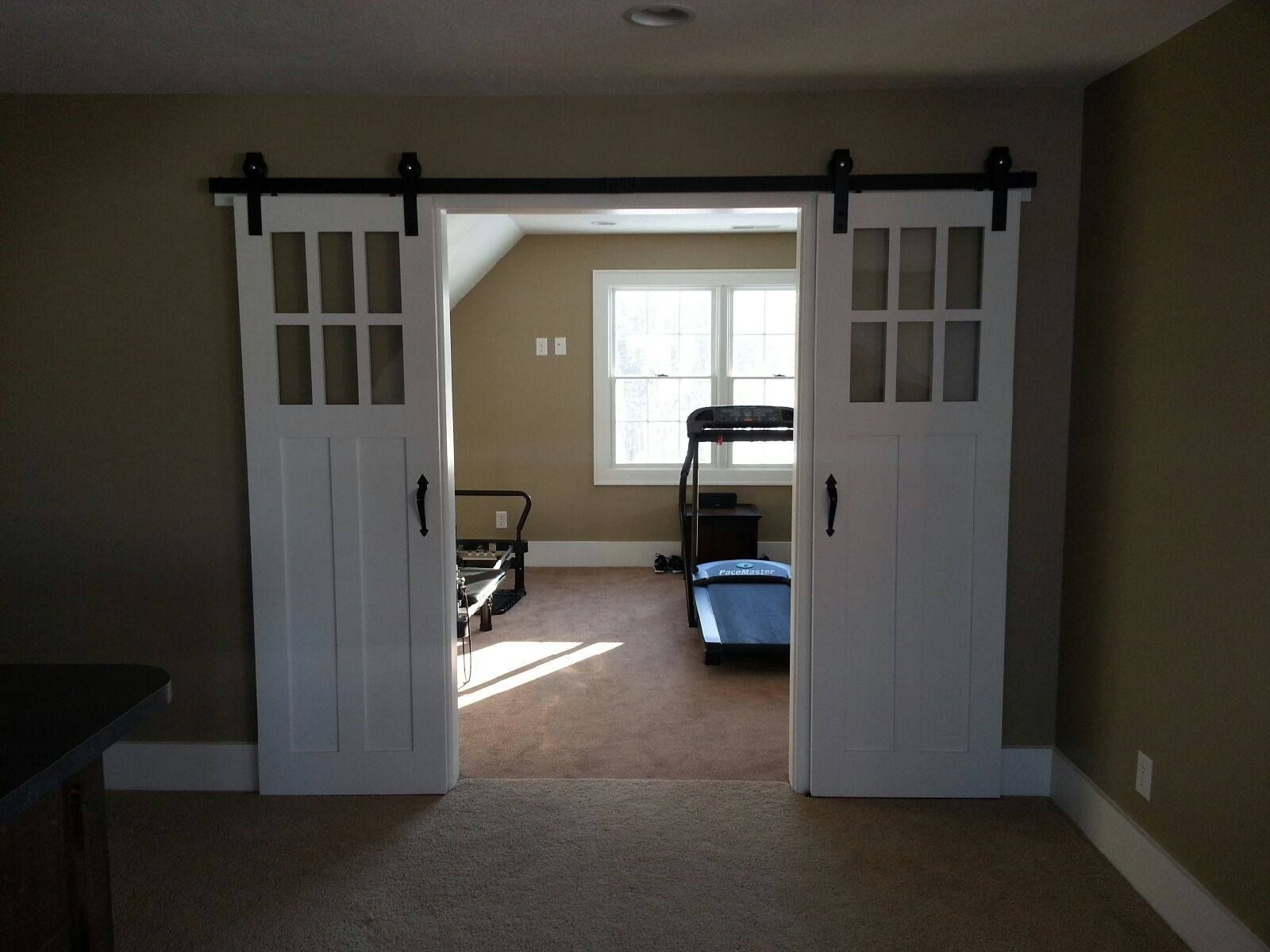 sliding barn doors basement ideas pinterest