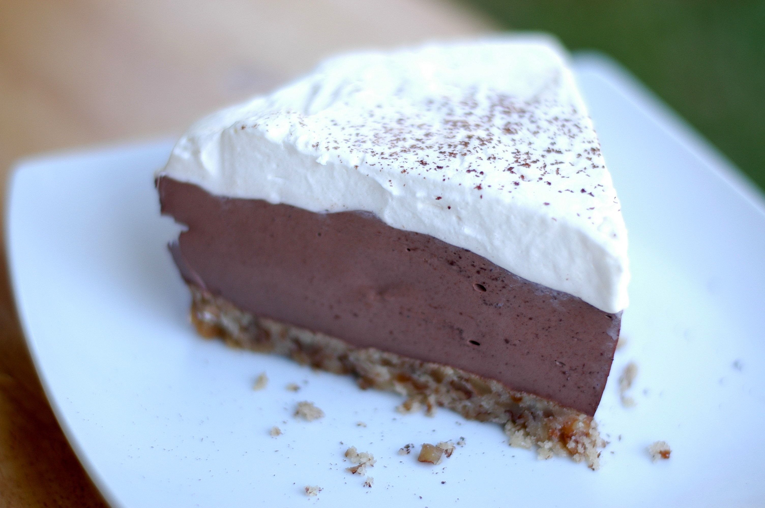 Mile High Chocolate Pie | Grain Free/Low Carb Treats | Pinterest