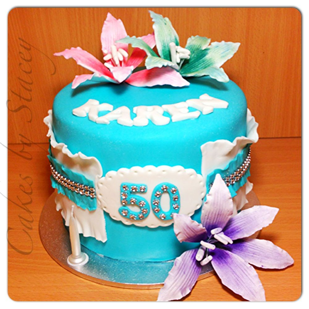 50th birthday cake | Cakes | Pinterest