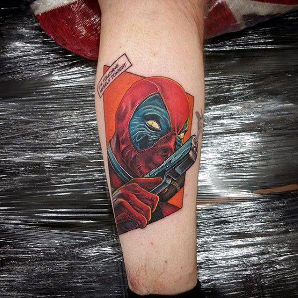 60 Marvel Tattoos For Men – Superhero Comic Design Ideas