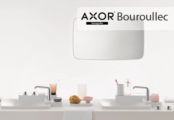 Axor Bouroullec faucet soft, cylindrical and rounded shapes is based on a clear design concept and Nature.