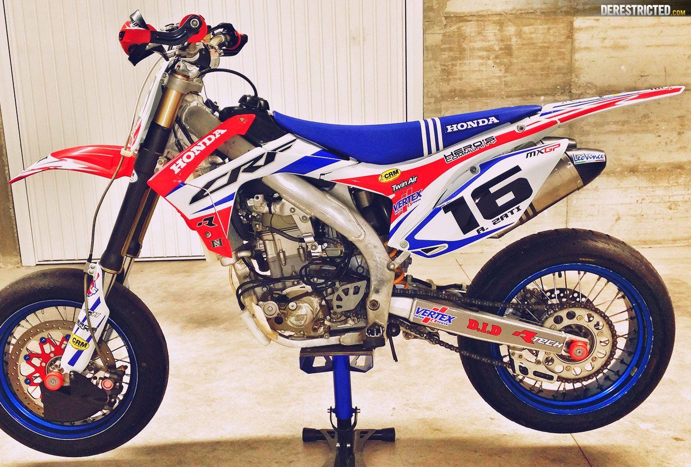Honda supermoto bikes