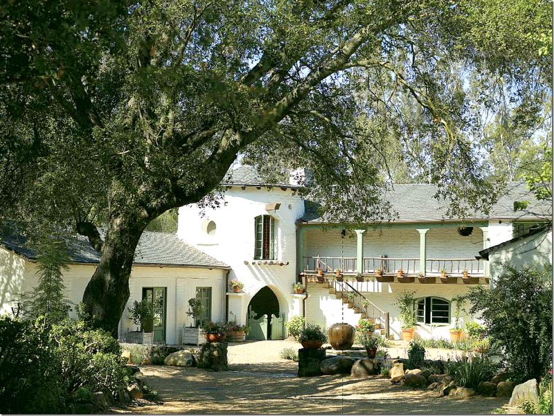 Kathryn ireland homes and gardens pinterest for The ranch house in ojai
