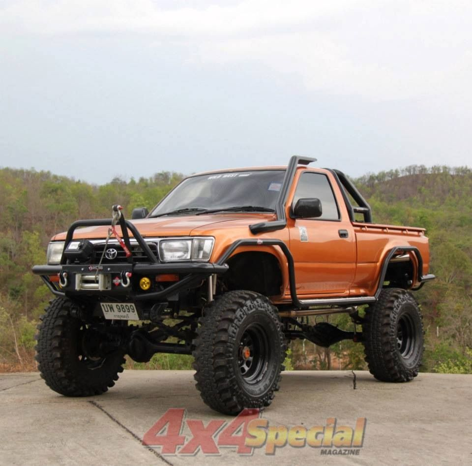 Toyota Off Road >> Orange SAS Toyota Hilux | Offroad | Pinterest