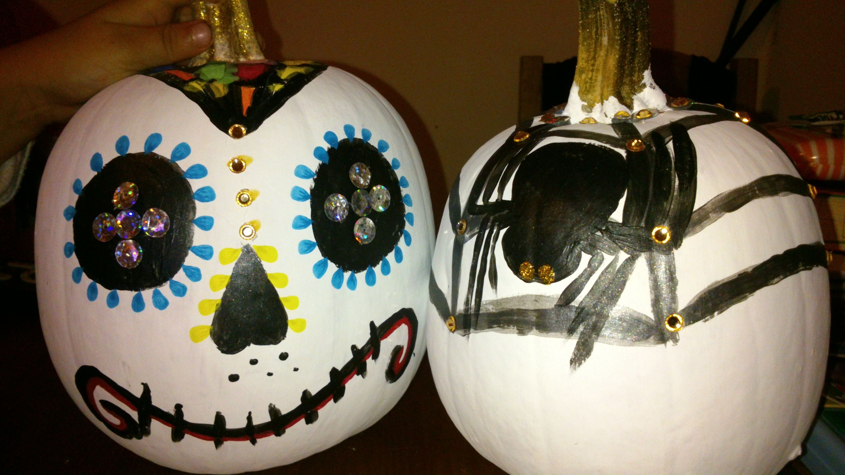 Ideas y manualidades on pinterest 208 pins new style for - Calabazas decoradas para halloween ...
