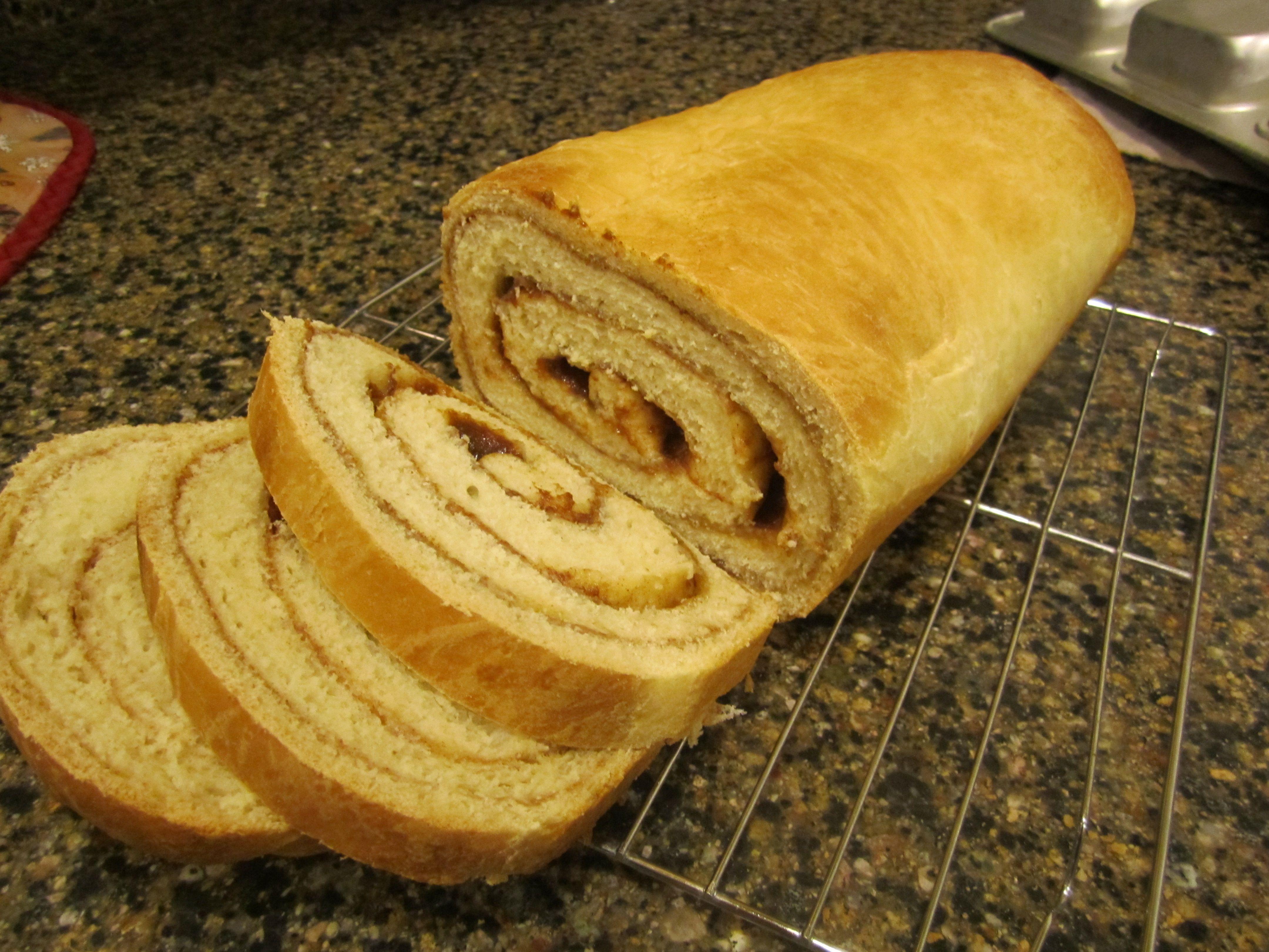 Homemade Cinnamon Bread | Yum for the Tum | Pinterest