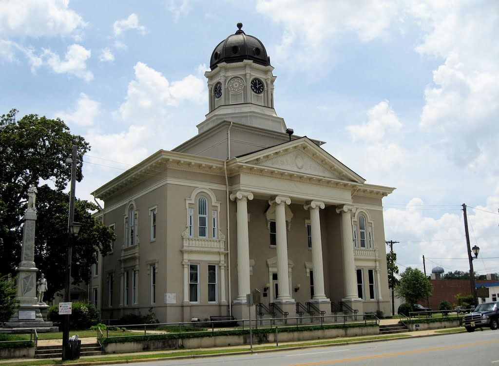 Hawkinsville, GA courthouse | Georgia | Pinterest