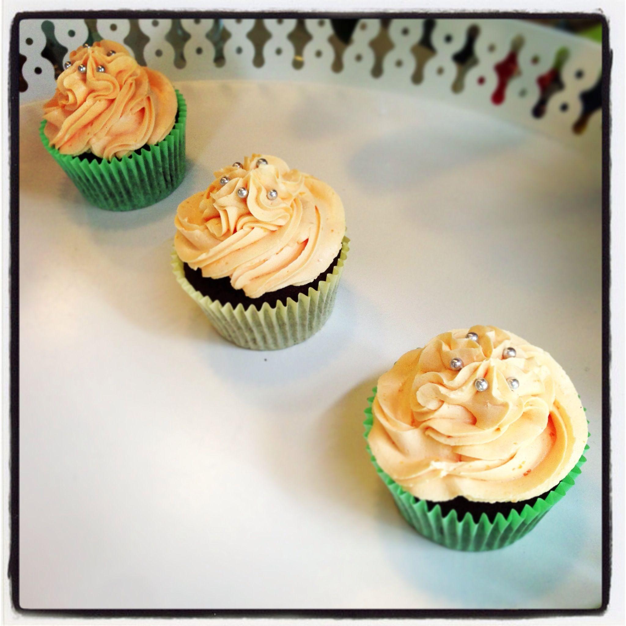 Chocolate Orange cupcakes | Vintage Bakery Shop | Pinterest