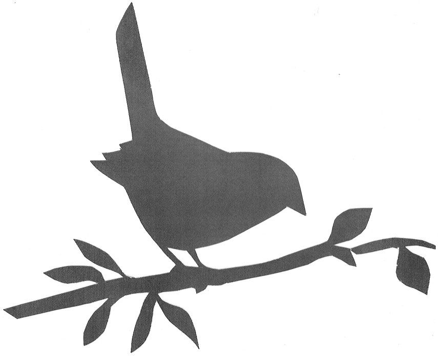 Bird template to print