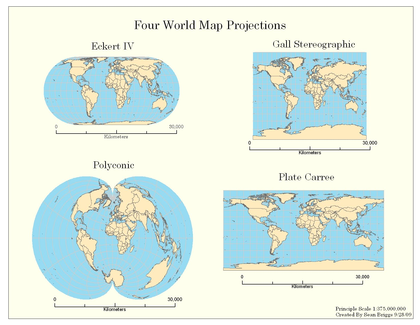 map projection types An overview of different map projections how they are produced and applications of each.