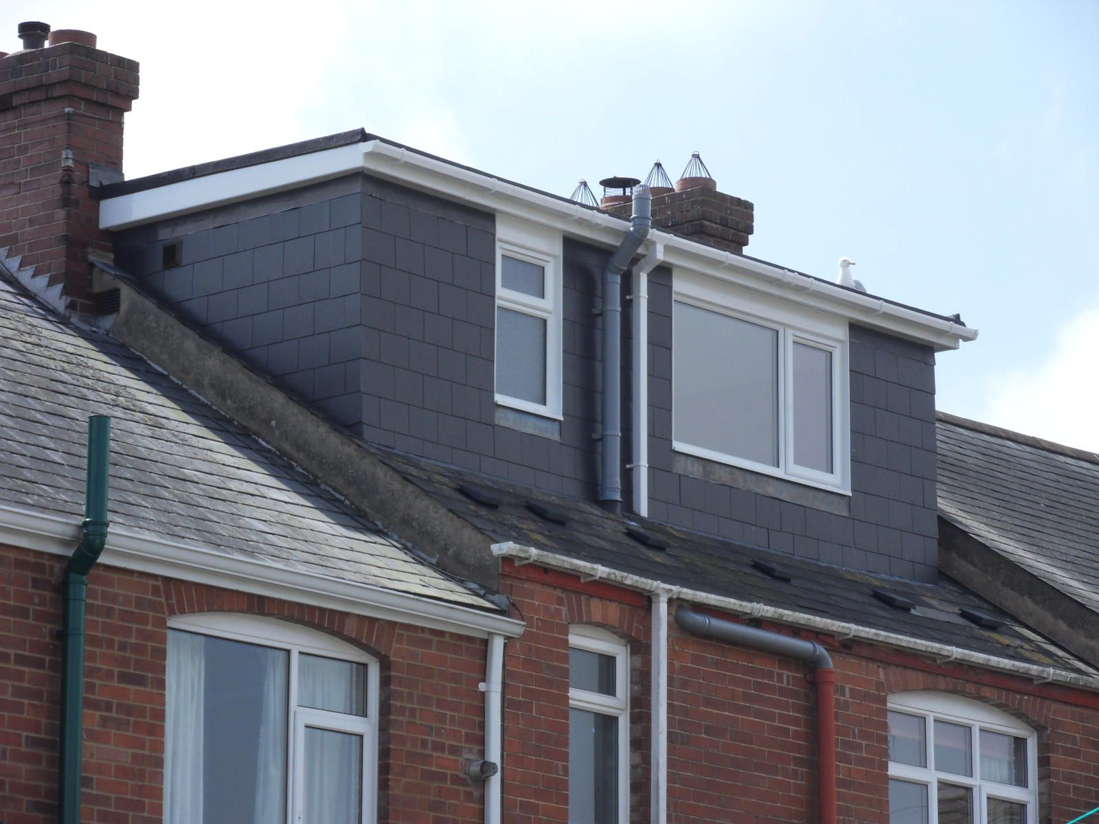 Flat Roof Dormer By Attic Designs Ltd Bungalows Pinterest