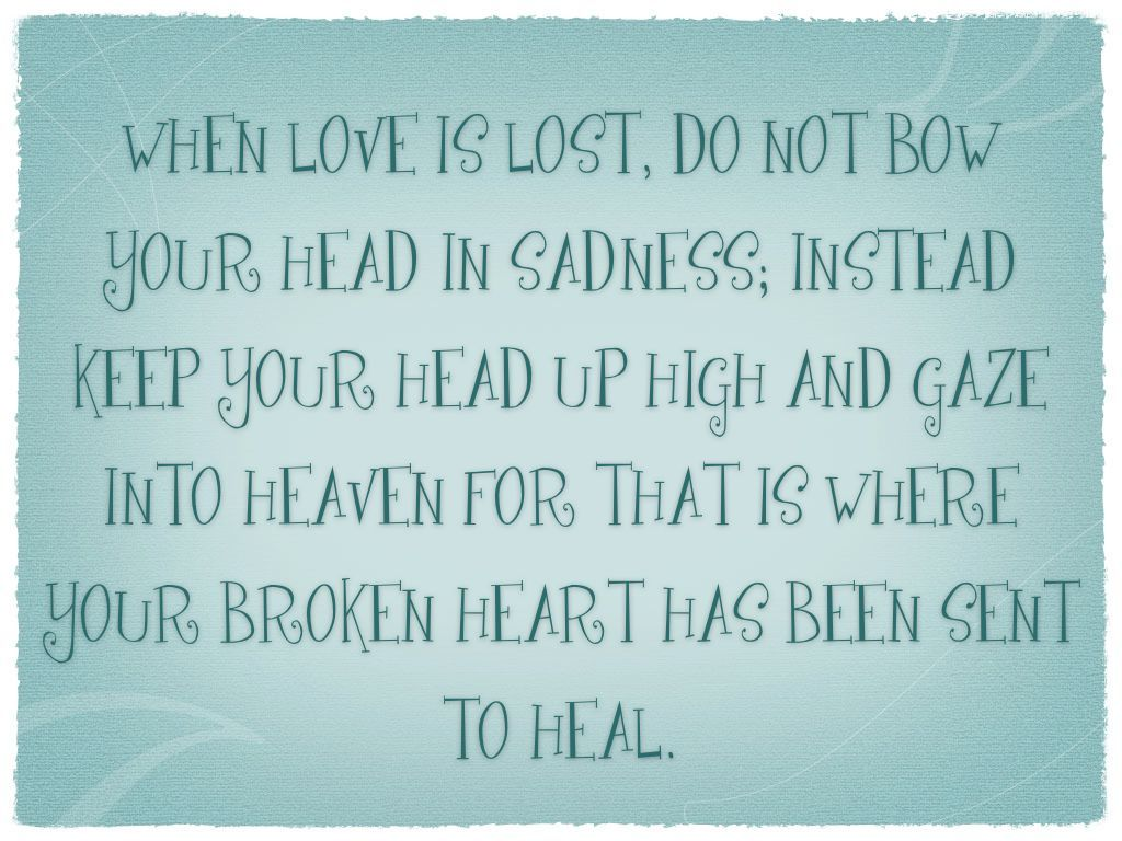 LOVE LOST Quotes & Sayings Pinterest