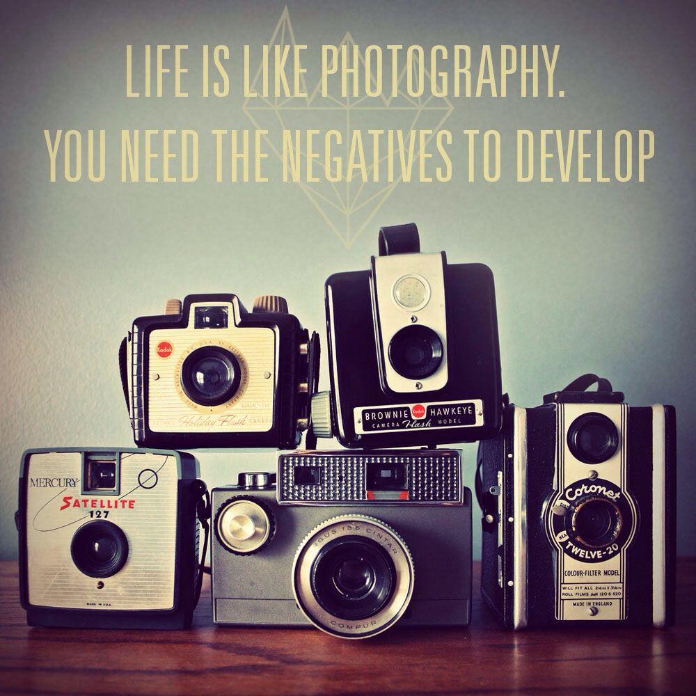 Let the negatives develop