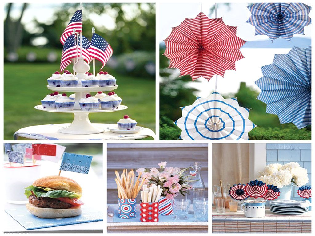 4th Of July Table Ideas Party Planning Holidays And