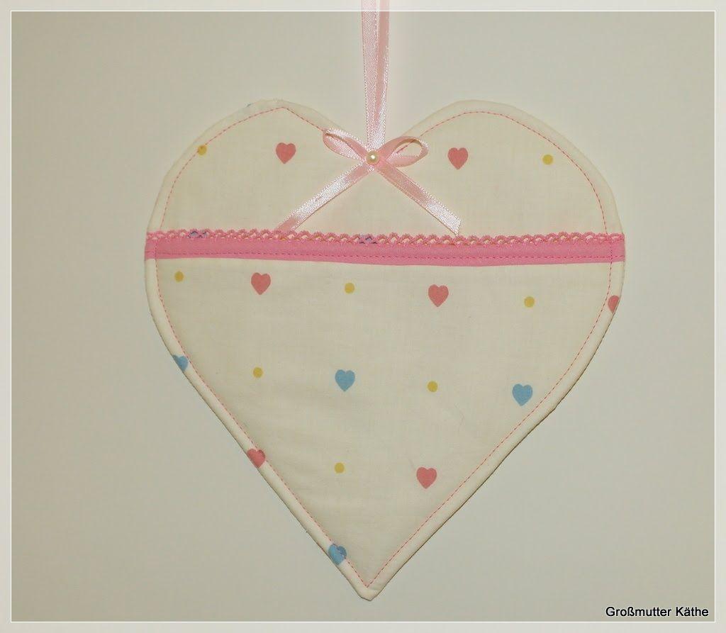 Käthes Nähstunde DIY Taschenherz Valentinstag / Muttertag Nähen ...